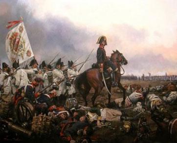 Ataque de Infanteria Española en bailén