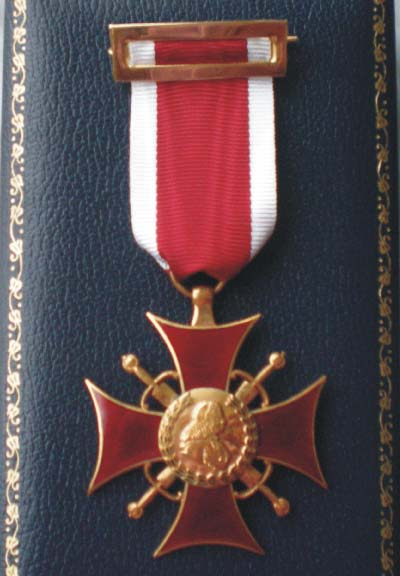 Insignia de la Cruz de Justicia