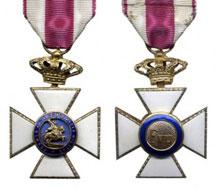 Cruz de oro de la Real y Militar orden de San Hermenegildo
