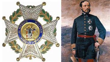 Placa de la Real Militar Orden de San Fernando