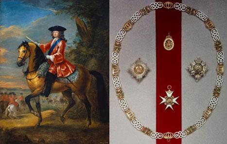 Retrato ecuestre de Jorge I